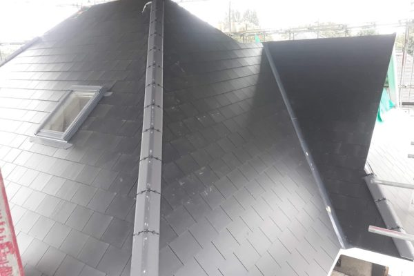 New roof covering